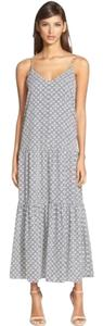 blue and white Maxi Dress by 1.STATE