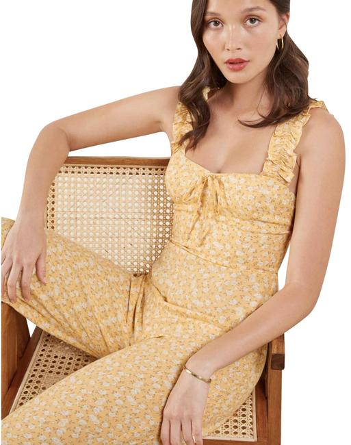 Item - Yellow/White Moore Romper/Jumpsuit
