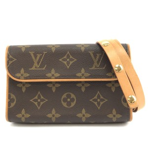 Louis Vuitton Lv Monogram Florentine Bum brown Clutch