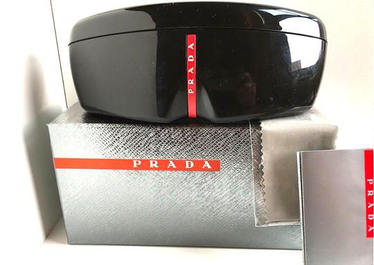Prada New 90's Style Shield SPS 09U 4461C0 Free 3 Day Shipping Image 4