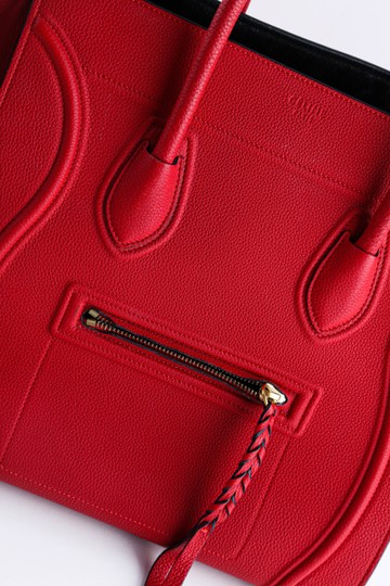Céline Tote in Red Image 9