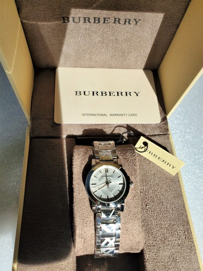 Burberry New Burberry The City Stainless Steel Ladies Bu9233 Watch Image 6