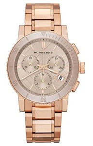 Burberry New Burberry Chronograph Women's Bu9703 Watch