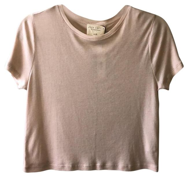 Item - Nude Pink Ca611w02010 Tee Shirt Size 2 (XS)