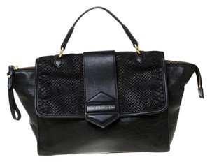 Marc by Marc Jacobs Leather Nylon Satchel in Black