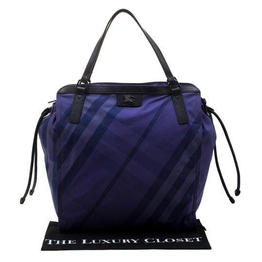 Burberry Nylon Packable Tote in Purple Image 11