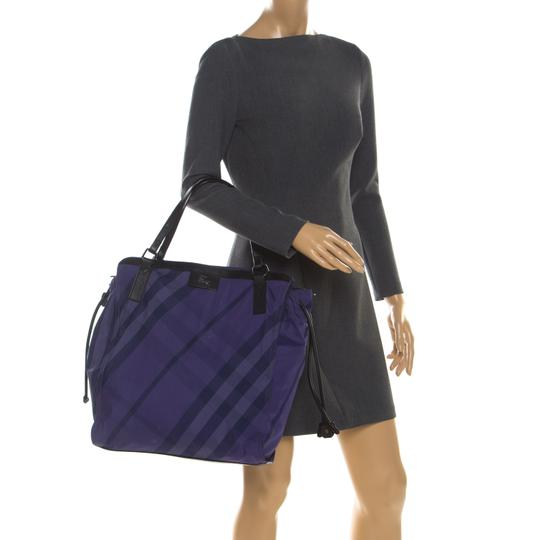 Burberry Nylon Packable Tote in Purple Image 2