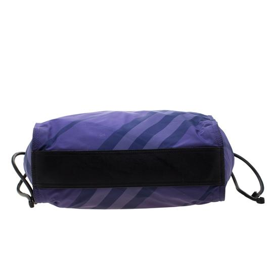 Burberry Nylon Packable Tote in Purple Image 3