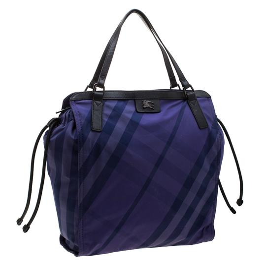 Burberry Nylon Packable Tote in Purple Image 4