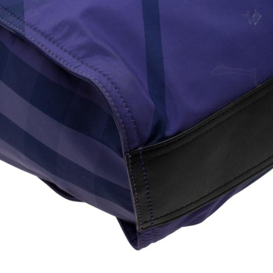 Burberry Nylon Packable Tote in Purple Image 5