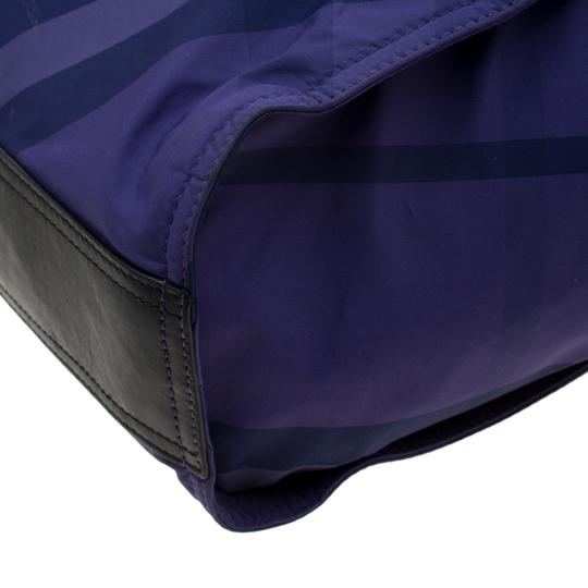 Burberry Nylon Packable Tote in Purple Image 6