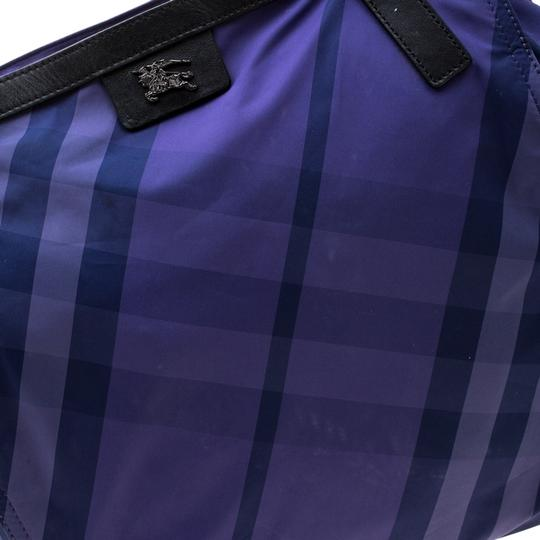 Burberry Nylon Packable Tote in Purple Image 7