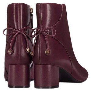 Tory Burch plum Boots