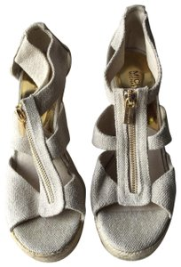 Michael Kors Natural Beige Wedges