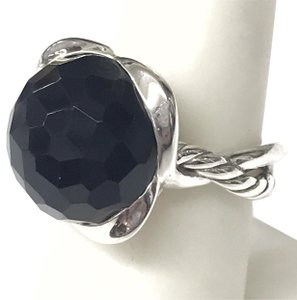 David Yurman BEAUTIFUL!! CLASSIC STYLE!! David Yurman Black Onyx Continuance Ring