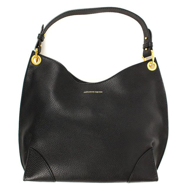 Item - Shoulder New Tote Gold Black Leather Hobo Bag
