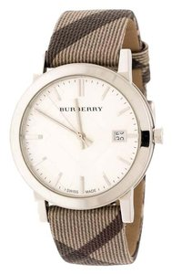 Burberry Silver Stainless Steel The City BU9022 Women's Wristwatch 38 mm
