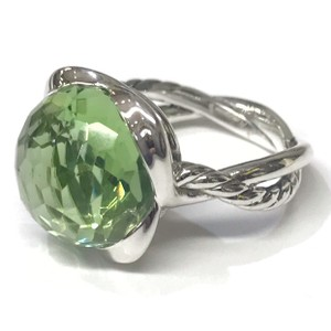 David Yurman BEAUTIFUL!! CLASSIC STYLE!! David Yurman Prasiolite Continuance Ring
