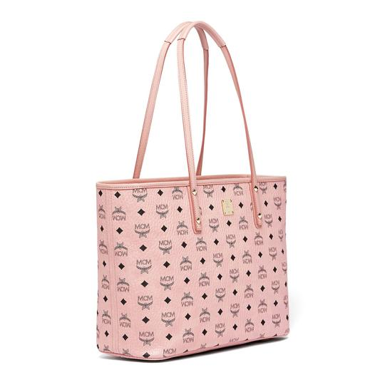 MCM Tote in Soft Pink Image 4