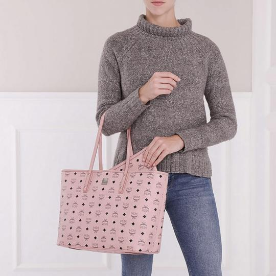 MCM Tote in Soft Pink Image 5