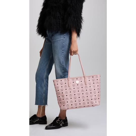 MCM Tote in Soft Pink Image 6