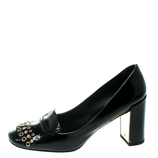 Louis Vuitton Patent Leather Detail Black Pumps Image 4