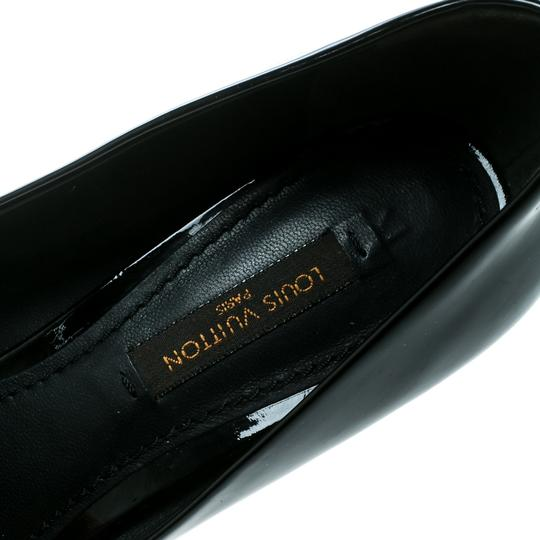 Louis Vuitton Patent Leather Detail Black Pumps Image 6
