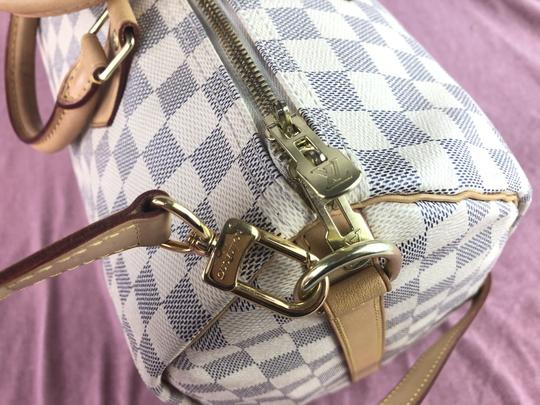 Louis Vuitton Lv Speedy 35 Monogram Bandouliere Cross Body Bag Image 2