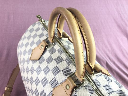 Louis Vuitton Lv Speedy 35 Monogram Bandouliere Cross Body Bag Image 4