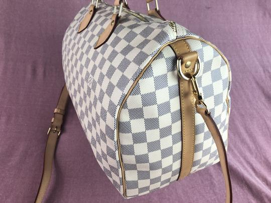 Louis Vuitton Lv Speedy 35 Monogram Bandouliere Cross Body Bag Image 6