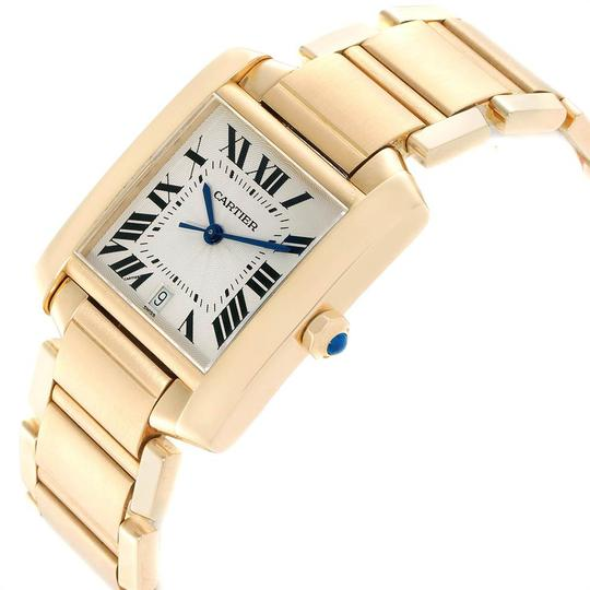Cartier Cartier Tank Francaise Large Yellow Gold Unisex Watch W50001R2 Box Pap Image 3