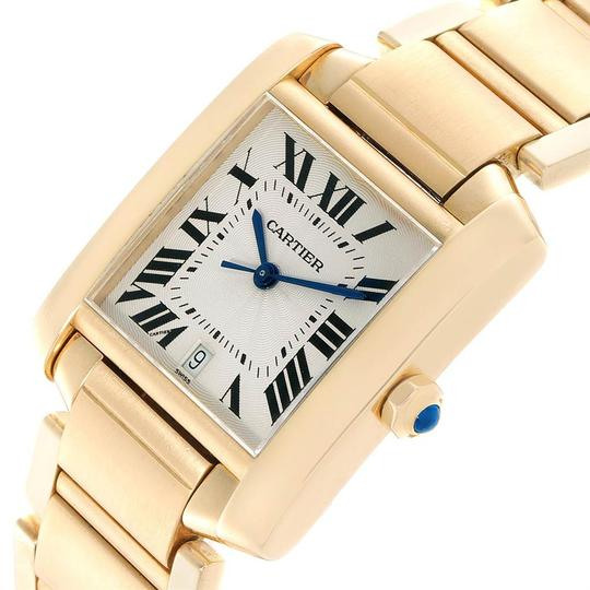 Cartier Cartier Tank Francaise Large Yellow Gold Unisex Watch W50001R2 Box Pap Image 4