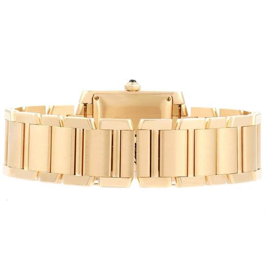 Cartier Cartier Tank Francaise Large Yellow Gold Unisex Watch W50001R2 Box Pap Image 6