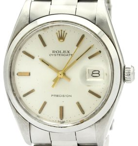 Rolex ROLEX Oyster Date Precision 6694 Steel Hand Winding Mens Watch