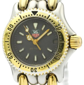 TAG Heuer Tag Heuer Sel Quartz Gold Plated,Stainless Steel Women's Dress Watch S95.208