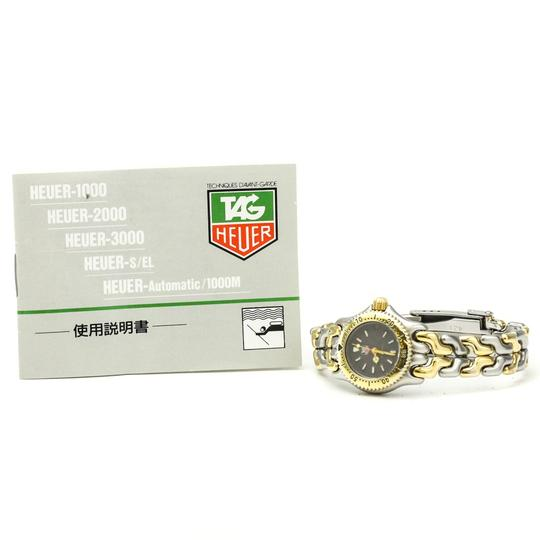 TAG Heuer Tag Heuer Sel Quartz Gold Plated,Stainless Steel Women's Dress Watch S95.208 Image 5