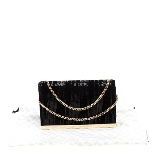 Diane von Furstenberg Embellished Suede Leather Chain Shoulder Bag Image 10