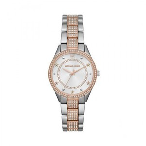 Michael Kors Michael Kors Women's Lauryn Pavé Two-Tone Stainless Steel Watch MK4388