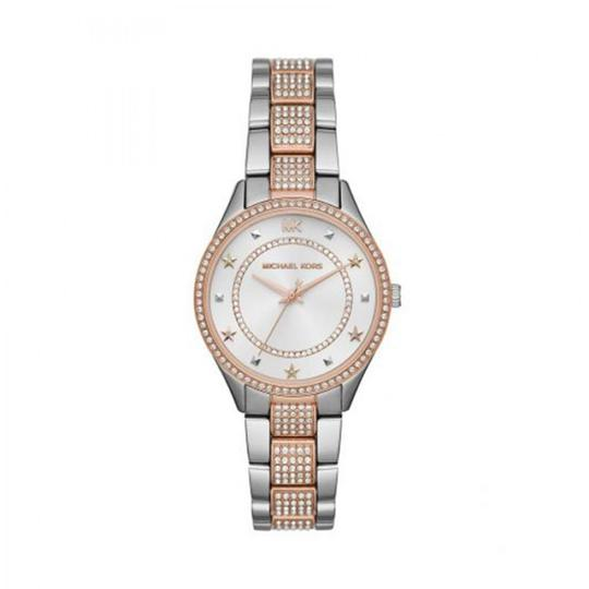 Preload https://img-static.tradesy.com/item/25892416/michael-kors-two-tone-women-s-lauryn-pave-stainless-steel-mk4388-watch-0-0-540-540.jpg