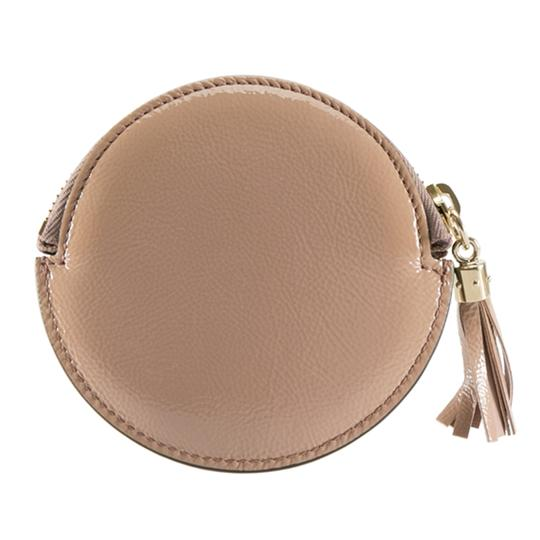 Gucci Dark Beige Patent Leather Soho Coin Purse Image 2