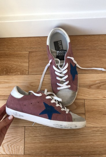 Golden Goose Deluxe Brand Berry Pink Athletic Image 1