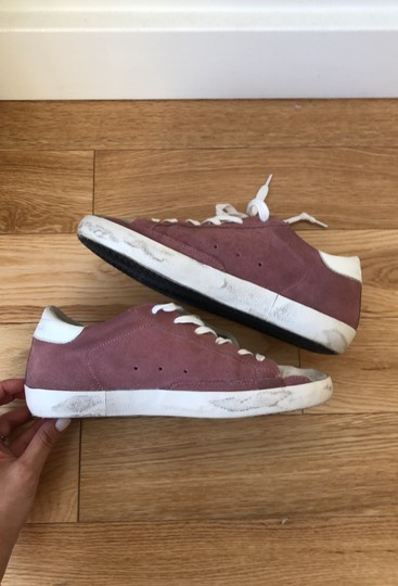 Golden Goose Deluxe Brand Berry Pink Athletic Image 8