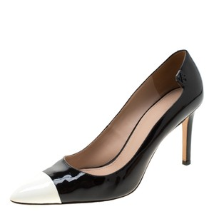 Tory Burch Monochrome Patent Leather Black Pumps