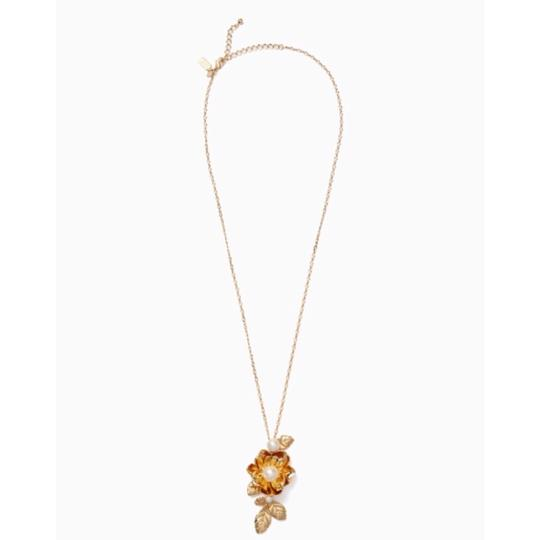 Kate Spade KATE SPADE * Lavish Blooms Long Necklace Image 1