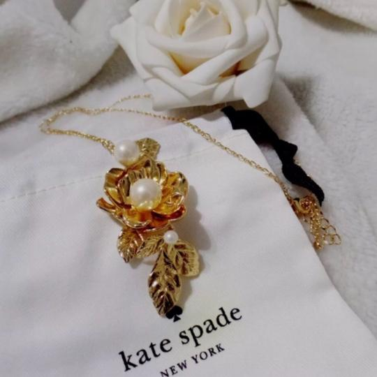 Kate Spade KATE SPADE * Lavish Blooms Long Necklace Image 3
