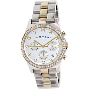 Marc by Marc Jacobs Marc Jacobs MBM3197 Silver Stainless-Steel Crystal Watch