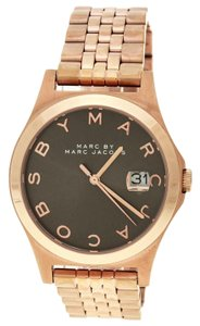 Marc by Marc Jacobs Marc Jacobs Rose Gold Mineral MBM3350 34 mm