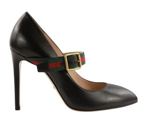 Gucci Leather Black Pumps