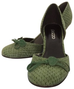 Pazzo Made In Brazil Green Wedges