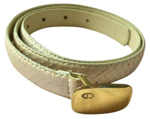 Dior Beautiful vintage snakeskin belt